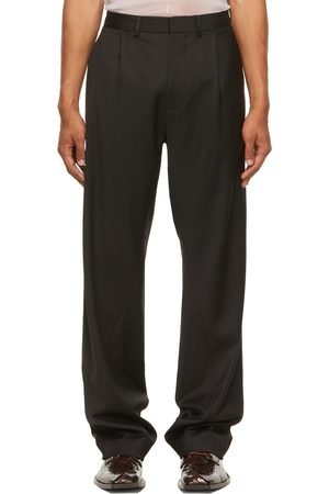 Bianca Saunders Twisted Tailored Trousers
