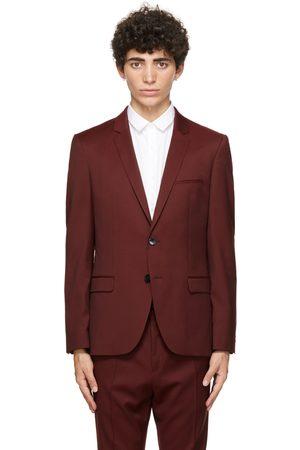 HUGO BOSS Burgundy Virgin Wool Arti204 Blazer