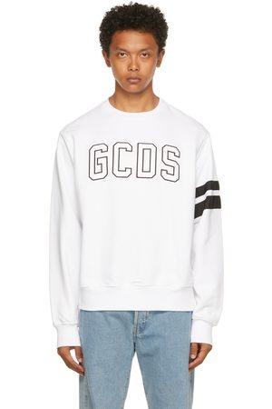 GCDS White Logo Sweatshirt