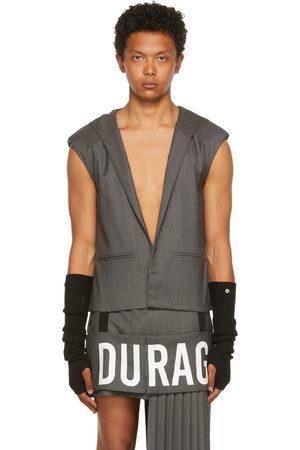 Hood By Air Grey Wool 'Durag' Tank Top