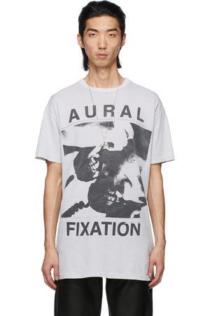 ENFANTS RICHES DEPRIMES Grey 'Aural Fixation' T-Shirt