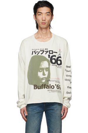 ENFANTS RICHES DEPRIMES Off-White Japanese Buffalo '66 Long Sleeve T-Shirt