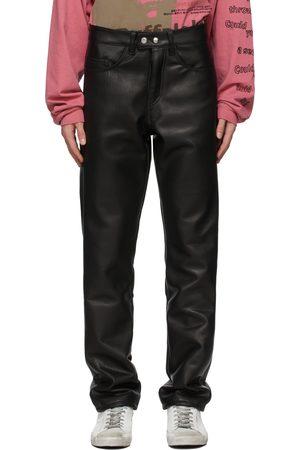 ENFANTS RICHES DEPRIMES High Waist Leather Pants