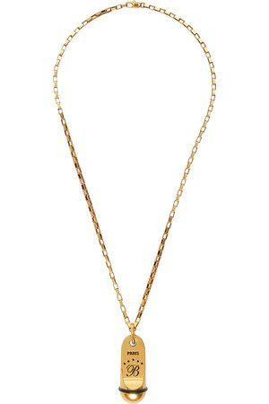 Balenciaga Gold Hotel Necklace