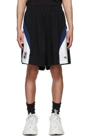 Balenciaga Black Mesh Hockey Shorts