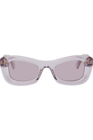 Bottega Veneta Purple Animations Sunglasses
