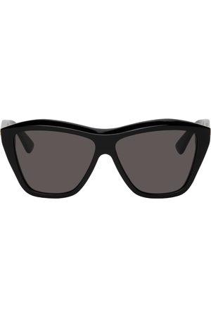 Bottega Veneta Black Shiny Sunglasses