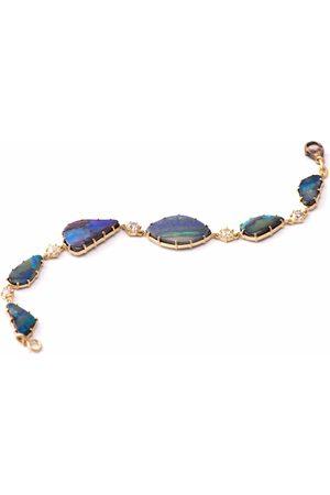 Sylva & Cie Australian Opal and Diamond Bracelet