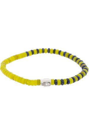 LUIS MORAIS Women Bracelets - Lapis and Yellow Glass Bead Braclet