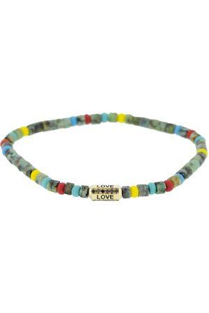 LUIS MORAIS Hemitite Beaded Love Bracelet