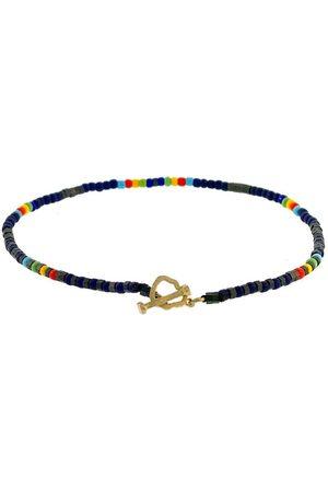 LUIS MORAIS Hematite Mix Bead Bracelet