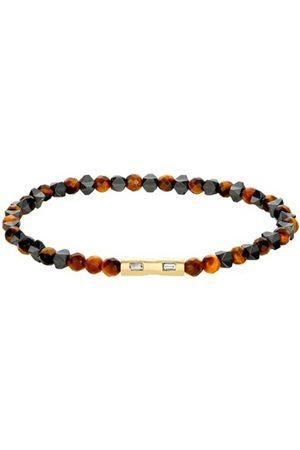 LUIS MORAIS Women Bracelets - Hematite and Diamond Baguette Bracelet