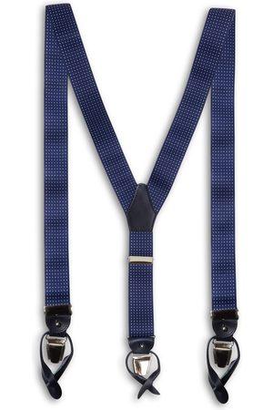 40 Colori Silk & Cotton Braces - polka dot