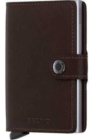 Secrid Original Dark Leather Mini Wallet