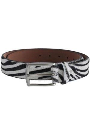 Fioriblu Furry Leather Belt