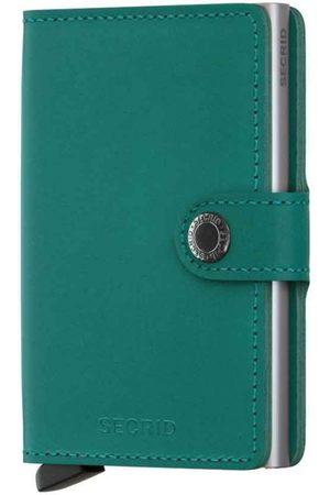 Secrid Original Emerald Leather Mini Wallet
