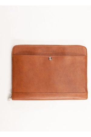 Brunello Cucinelli Men Laptop Bags - Leather Briefcase