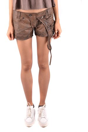 D.A. Daniele Alessandrini Women Shorts - Mini Shorts in Brown