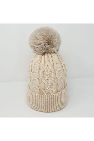 Tilley and Grace Women Hats - Tilley & Grace - Bella Faux Fur Bobble Hat - Grey