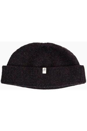 40 Colori 113401-BNE Fisherman Wool Beanie Charcoal