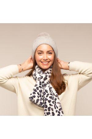 Tilley and Grace Tilley & Grace - Bella Faux Fur Bobble Hat - Grey