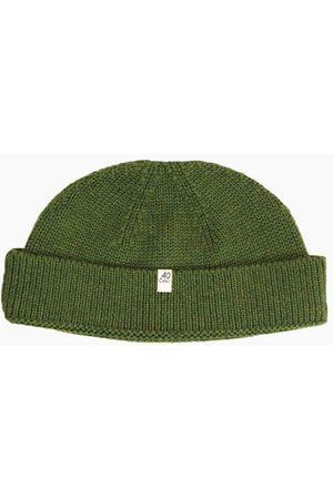 40 Colori 113402-BNE Fisherman Wool Beanie Olive
