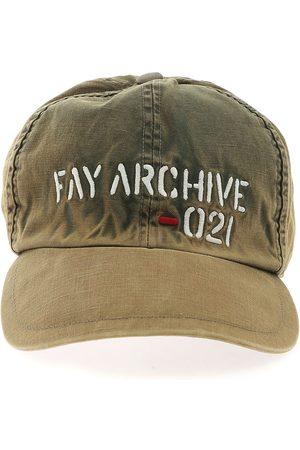Fay MEN'S N7MF342106TRR3V608 OTHER MATERIALS HAT