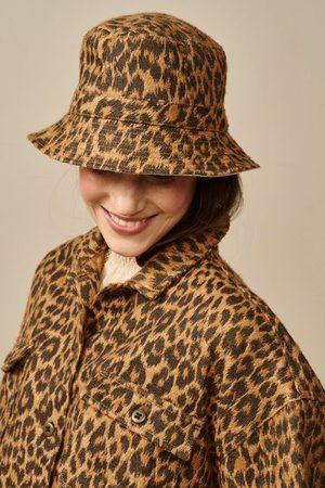 Bellerose Larya Leopard Bucket Hat