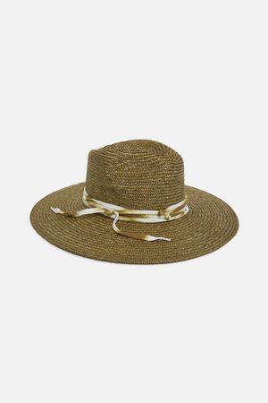 Ferruccio Vecchi Khaki Trilby Hat
