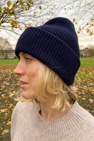 Colorful Standard Women Hats - Navy Hat