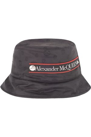 Alexander McQueen MEN'S 6613664401Q1000 POLYESTER HAT