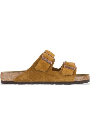 Birkenstock Arizona SFB VL Sandals - Mink Suede