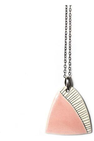 Isla Ibiza Clay Ceramic Pendant Necklace - Baby