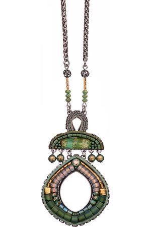 AYALA BAR Women Necklaces - Pendant in Green Moonlight