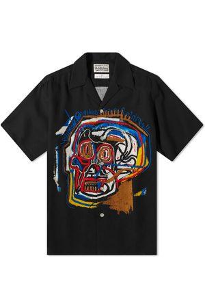 Wacko Maria Men Denim - Jean-Michel Basquiat Type 1 Hawaiian Shirt
