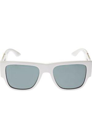 VERSACE Greek Motif Squared Acetate Sunglasses