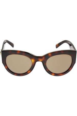 VERSACE Women Round - Vintage Tribute Round Acetate Sunglasses