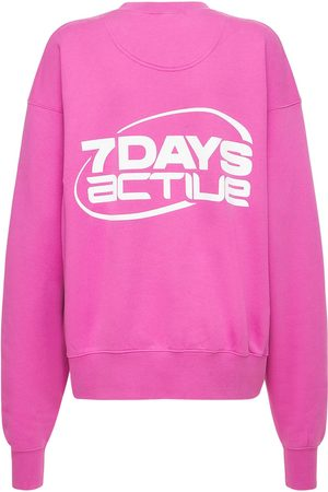 7 DAYS ACTIVE Women Sweatshirts - Oversize Monday Crewneck Sweatshirt