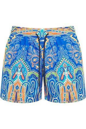 Etro Printed Nylon Swim Shorts