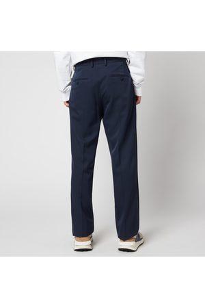 Lanvin Men Straight Leg Pants - Men's Side Bands Straight Pants