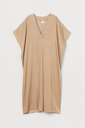H&M Women Tunic Dresses - V-neck Kaftan Dress