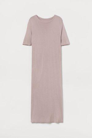 H&M Women Nightdresses & Shirts - Calf-length Jersey Nightgown