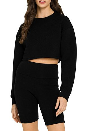 Grey Lab Women Sweats - Loungewear Cropped Sweatshirt (42% off) Comparable value $60