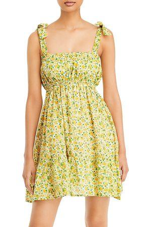 FAITHFULL THE BRAND Women Party Dresses - Elwood Printed Mini Dress