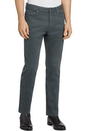 Z Zegna Men Stretch Pants - Ermenegildo 5-Pocket Stretch Cotton Pants