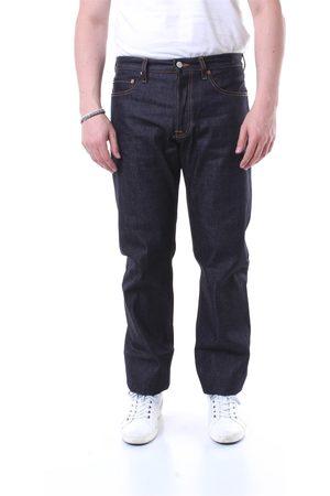 GRIFONI Straight Men Dark jeans