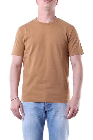 GRIFONI Short sleeve Men Camel