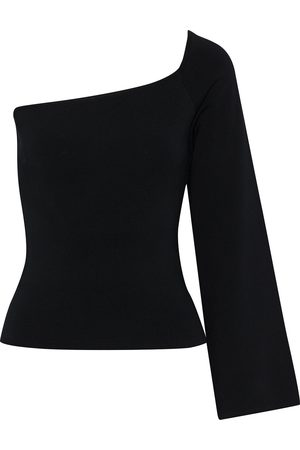 Solace Woman The Renata One-shoulder Stretch-knit Top Size 8