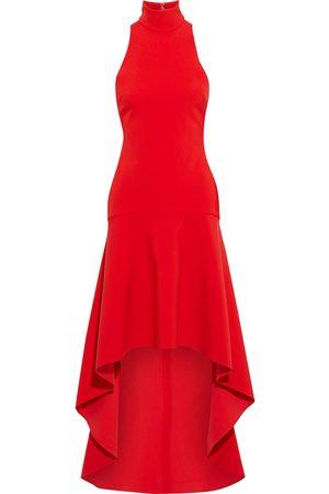 Solace Woman Bahar Asymmetric Crepe Dress Size 8