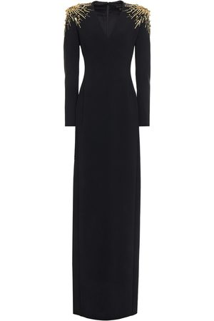 Jenny Packham Woman Embellished Stretch-crepe Gown Size 10